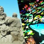 「星降る砂浜美術館★砂と光のアート展」