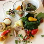 高知と愛媛の県境集落で食べる「畑のランチ」