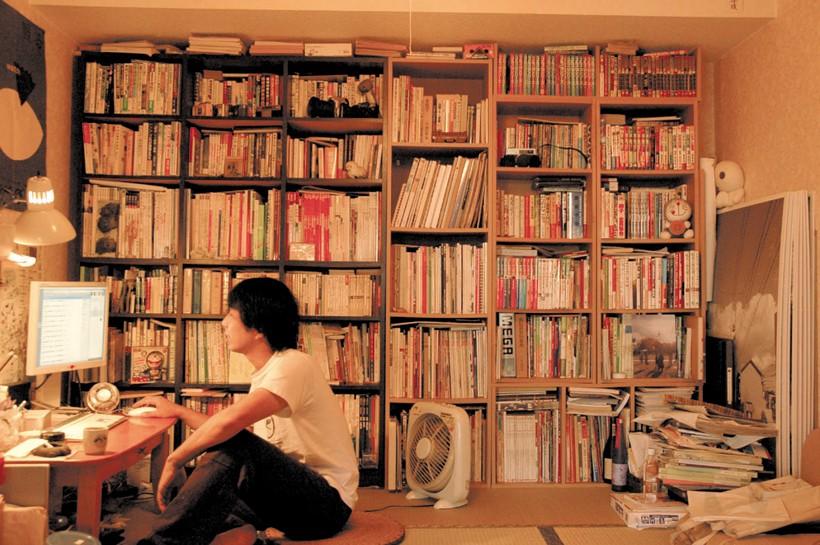 当時のタケムラ自室(18号室)