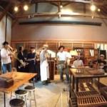古道具とおいしい物と音楽の週末 ー ふるもの市 その10 開催!