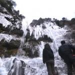 嗚呼絶景四国哉-17.全面凍結、大瀧の滝(いの町本川)