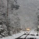 《徳島》嗚呼哀愁の秘境駅、雪の坪尻駅行