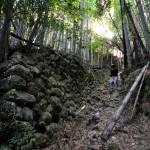《高知》壮大なる古城、朝倉城址