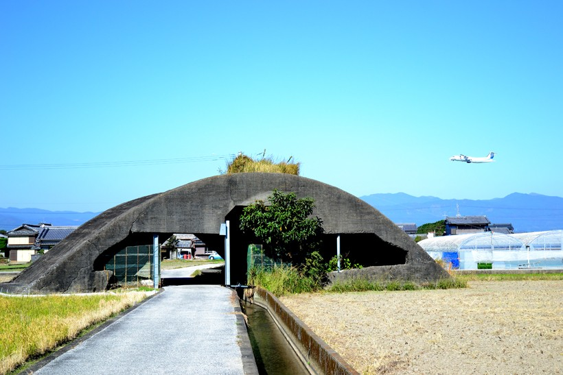 高知空港掩体壕