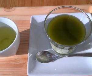 茶畑プリン かぶせ茶