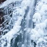 《愛媛》厳冬の氷瀑と猪出汁のおでん