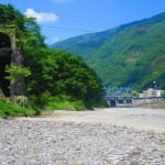 徳島、阿波池田。吉野川から街を見る!  《よみがえる川の道 vol.1》