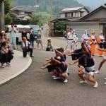 地元のための阿波踊り:神山町「桜花連」