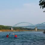 徳島、阿波池田〜海まで。吉野川から街を見る!  《よみがえる川の道 vol.2》