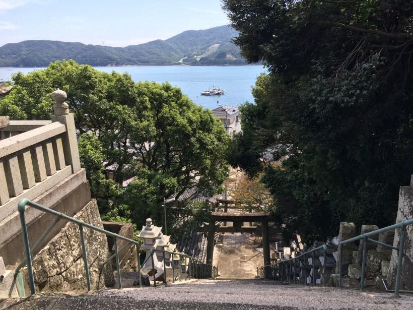 佐田神社からの風景