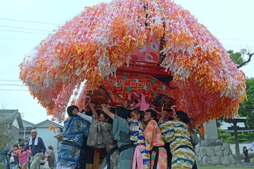 羽根八幡宮秋祭