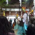 11月23日奉納。400年の伝統を受け継ぐ土佐最古の神楽「池川神楽」